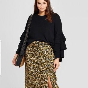 🚨🚨🚨 NWT- Animal Print Pencil Skirt